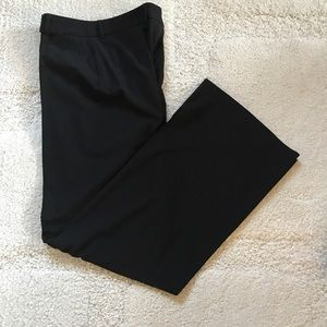 HIGH END WOLFORD Black Wool Pants